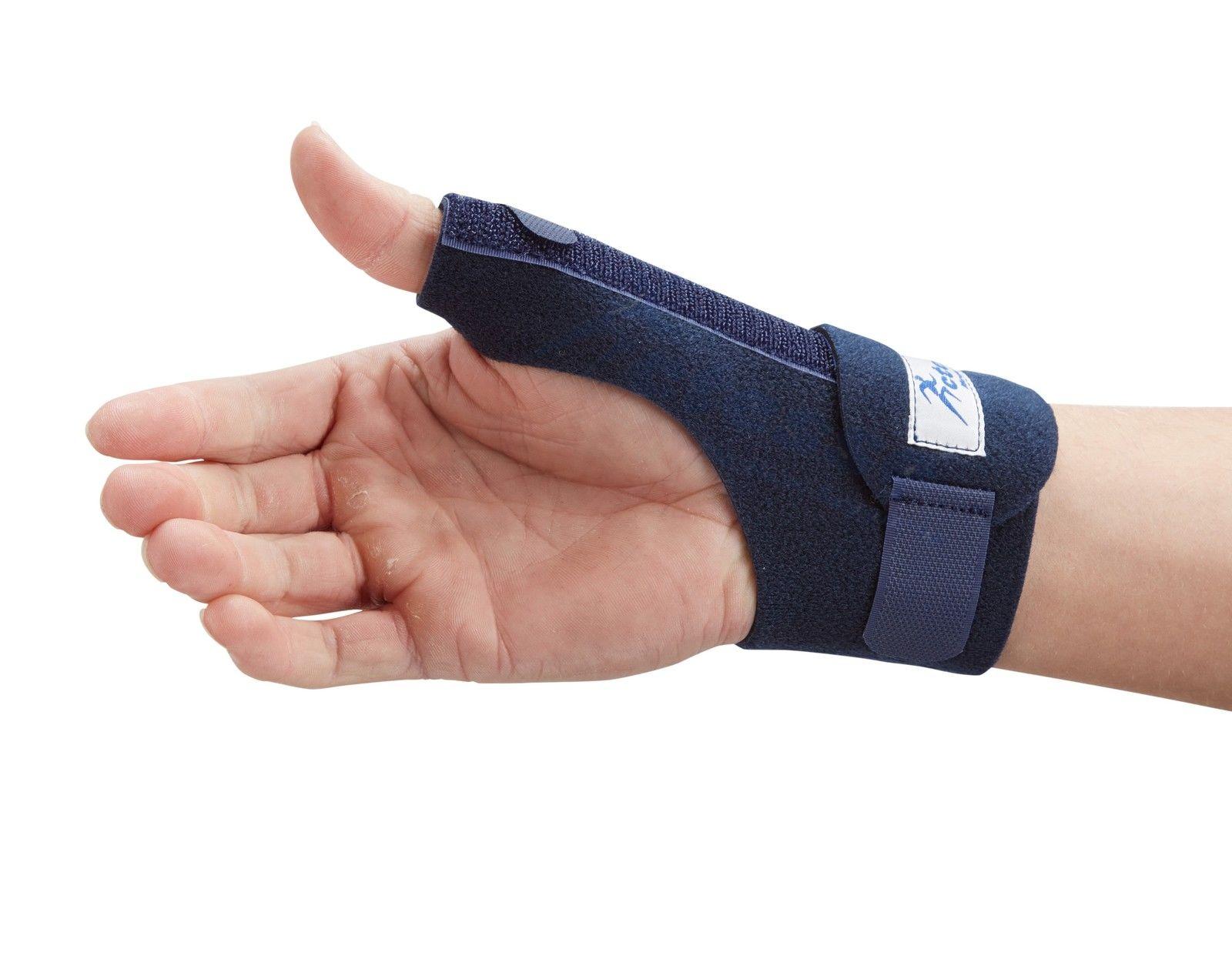 Thumb Spica Support Strap - De Quervains Splint Brace ...