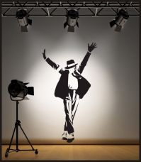 WALL ART MICHAEL JACKSON WALL STICKER / DECAL | eBay