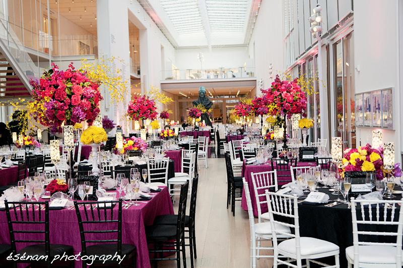 Greek Wedding Chicago  Art Institute of Chicago Modern Wing Wedding