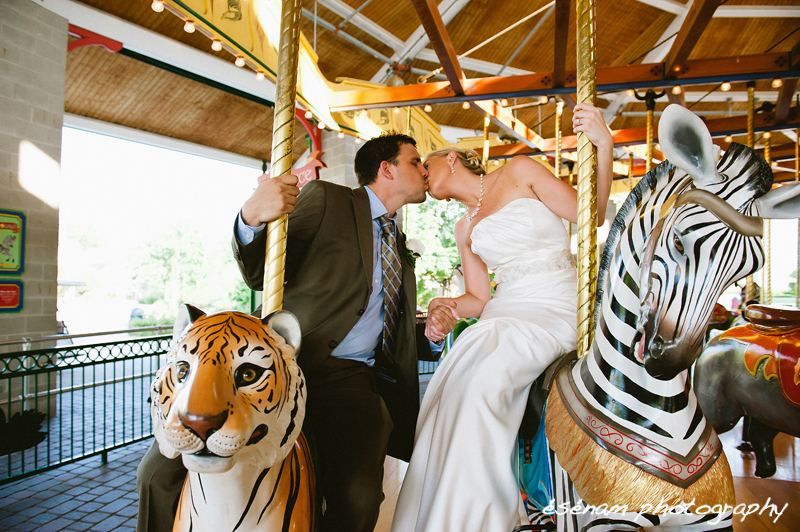 Brookfield Zoo Wedding Chicago IL Esenam Photography