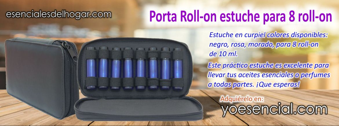 Roll on estuche para Roll on