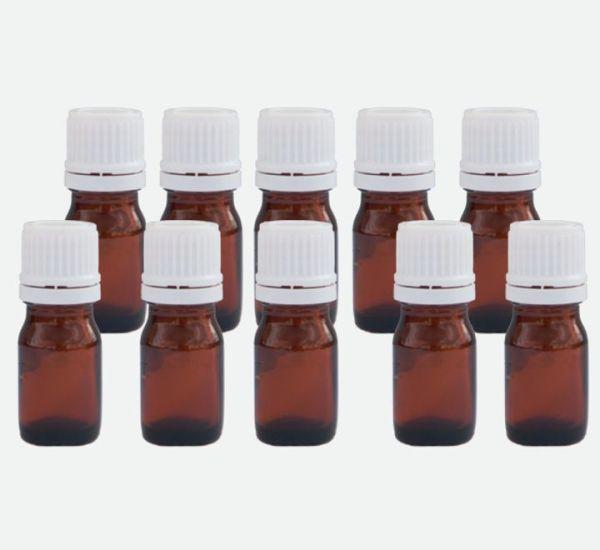 vial de 5 ml frasco ámabar