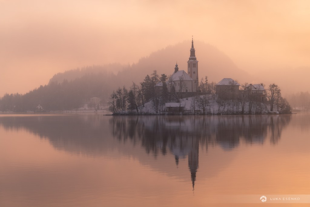 Winter photography workshop Lake Bled