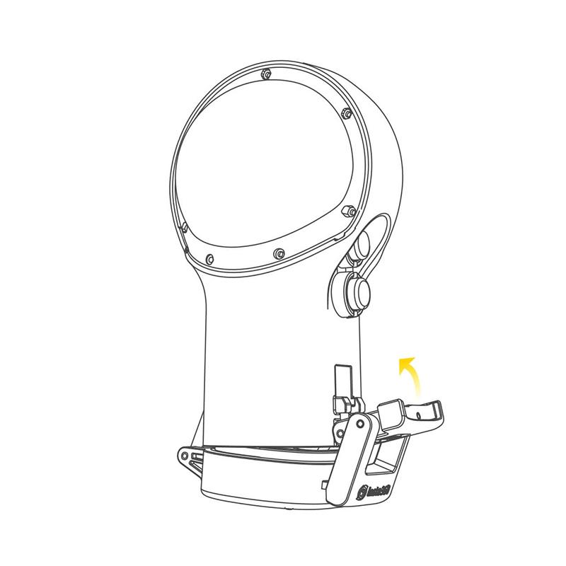 Insta360 ONE R 配件-潛水殼-全景鏡頭版本專用   先創國際