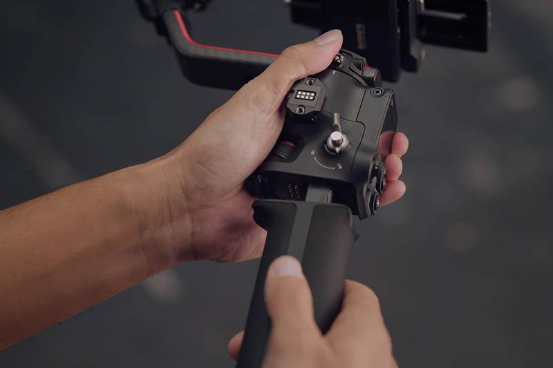 DJI RS 2 專業相機三軸穩定器|電池彈夾式快拆|先創國際