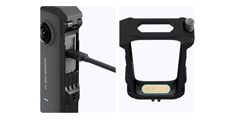 Insta360 One X2 配件-多功能擴展/保護邊框   先創國際