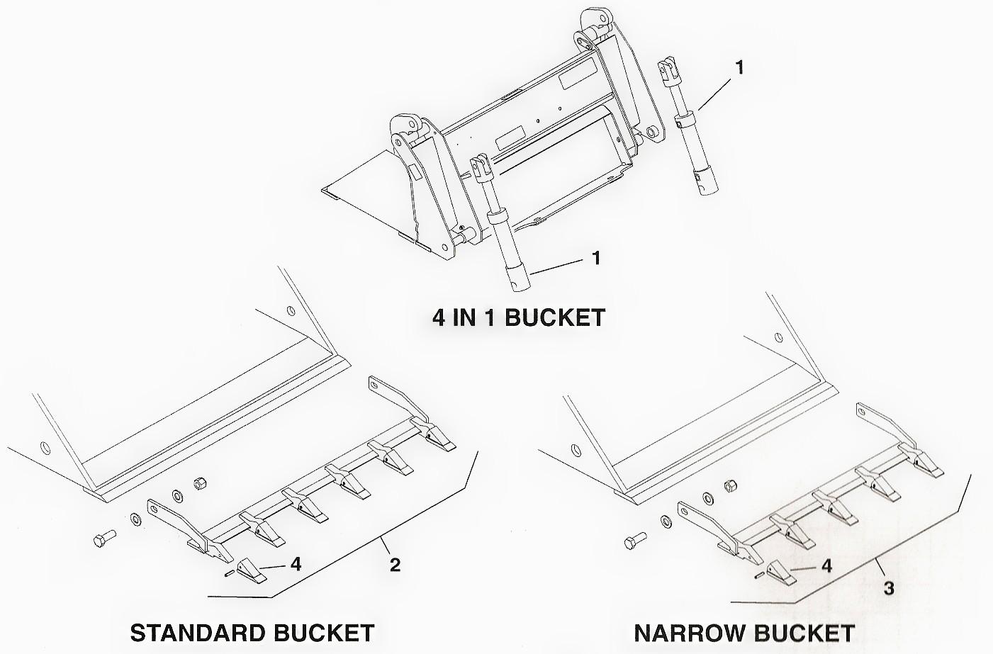 Toro Dingo Bucket Parts and Auger Bit Parts
