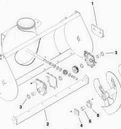 toro dingo snowblower attachment parts diagram [ 1254 x 878 Pixel ]