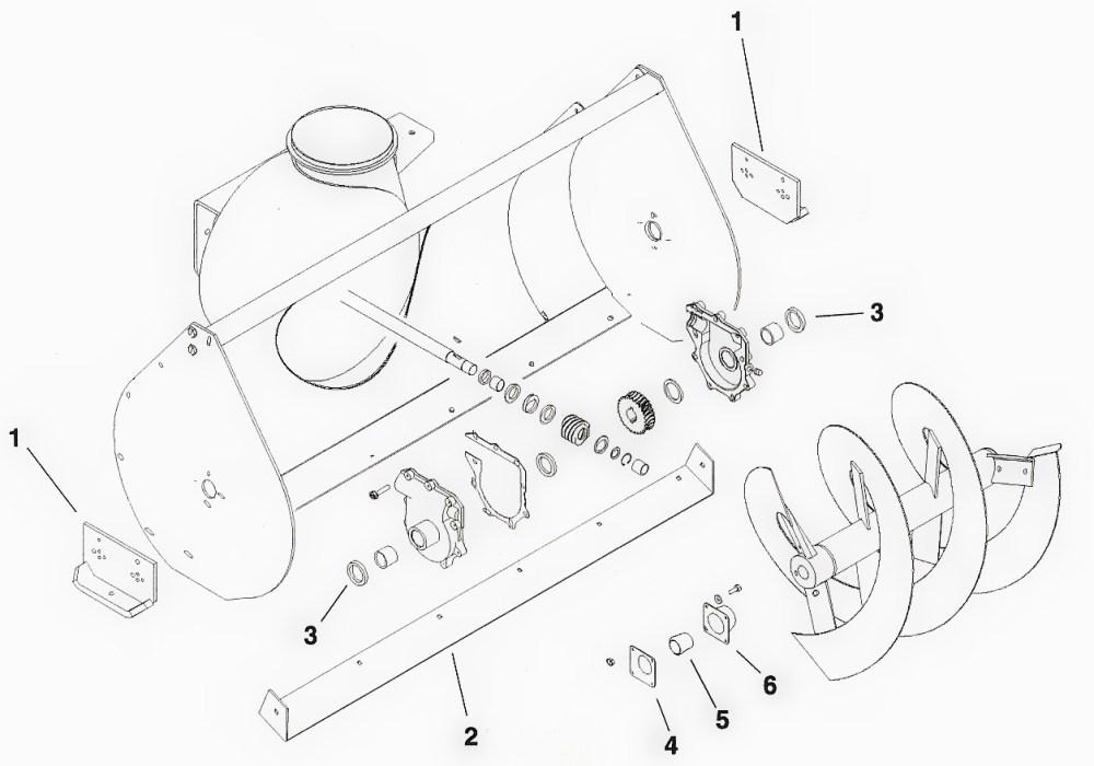 medium resolution of toro dingo snowblower attachment parts diagram