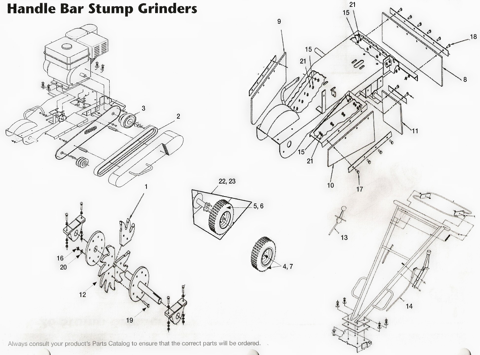 Toro Stump Grinder Diagram, Toro, Free Engine Image For