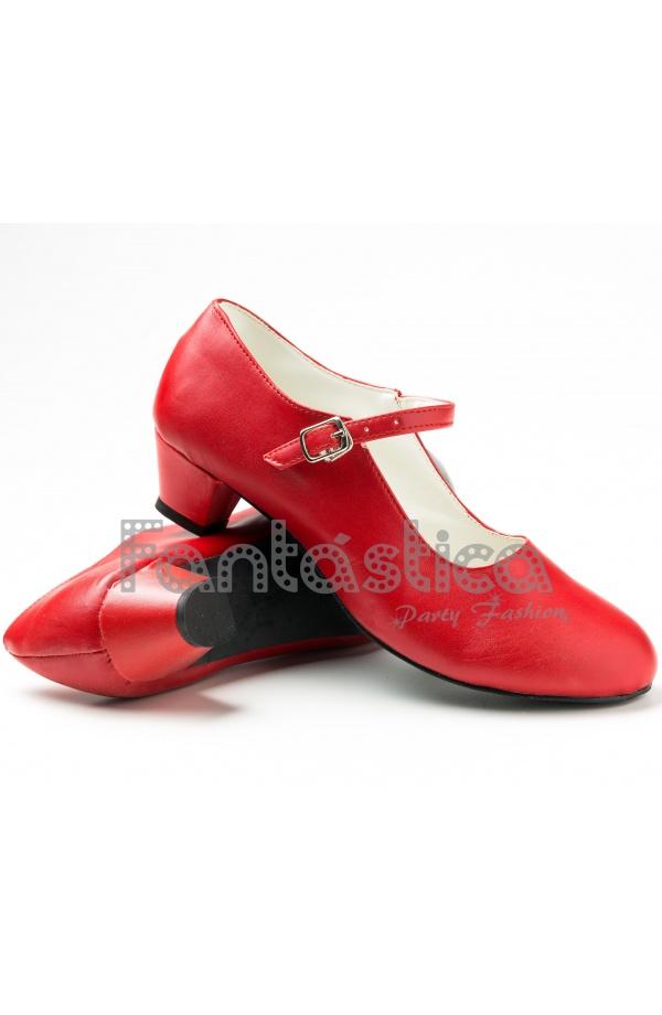 Zapatos Rojos Para Nina
