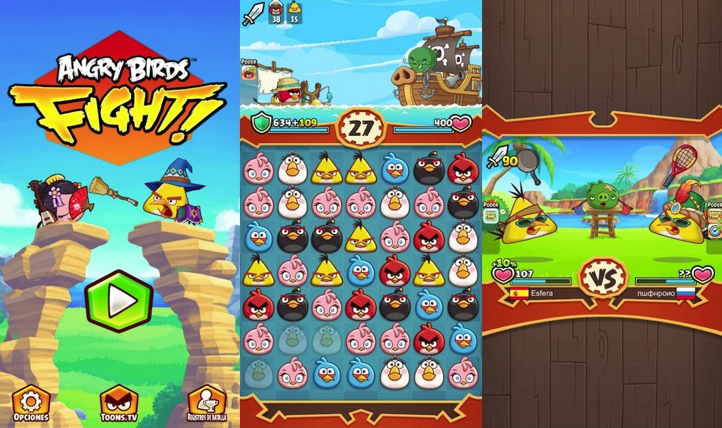 Angry Birds Fight iPhone