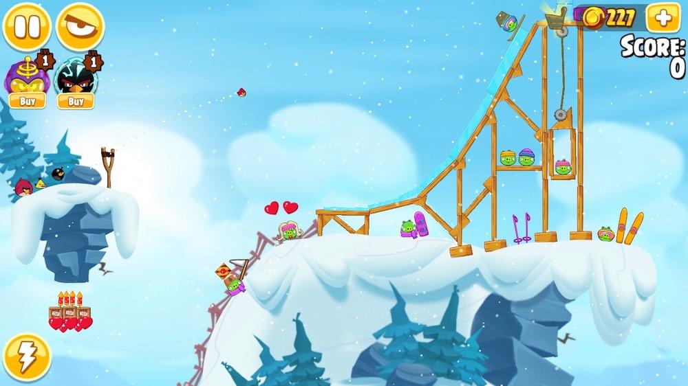 Angry Birds Seasons 2015 - calendario de adviento