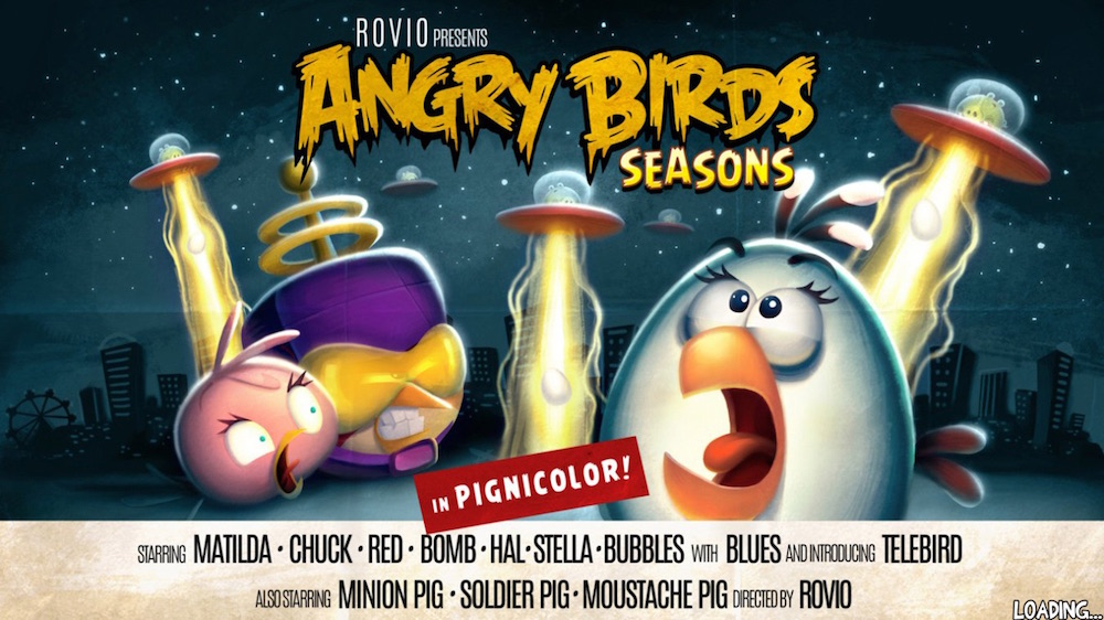 Angry Birds Seasons ovnis