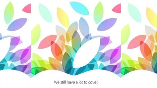 Invitación Keynote Apple 22 Oct