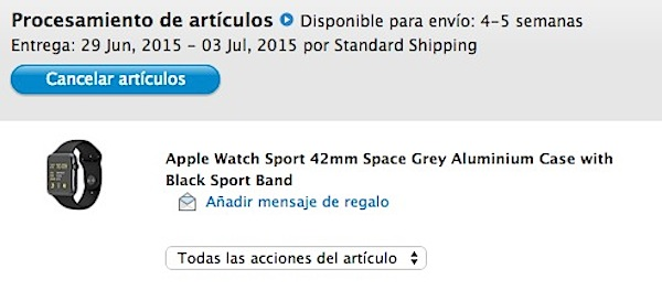 Comprar un Apple Watch