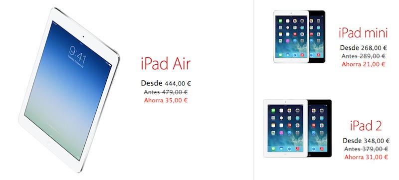 Descuentos Black Friday iPad