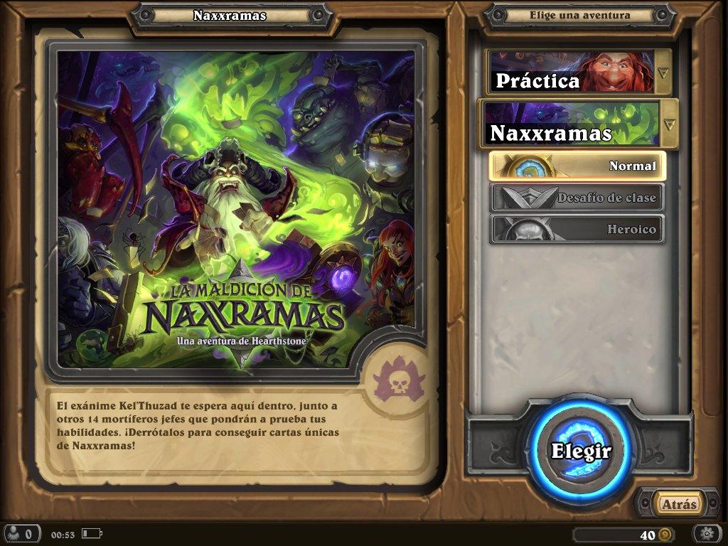 Heartstone Naxxramas 3
