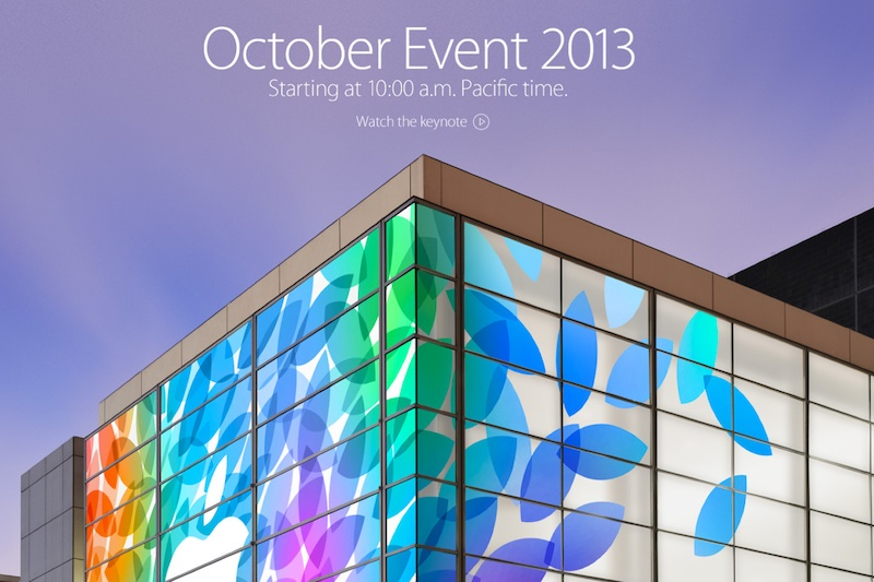Keynote Apple Octubre