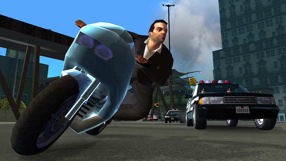 Grand Theft Auto: Liberty City Stories iPhone
