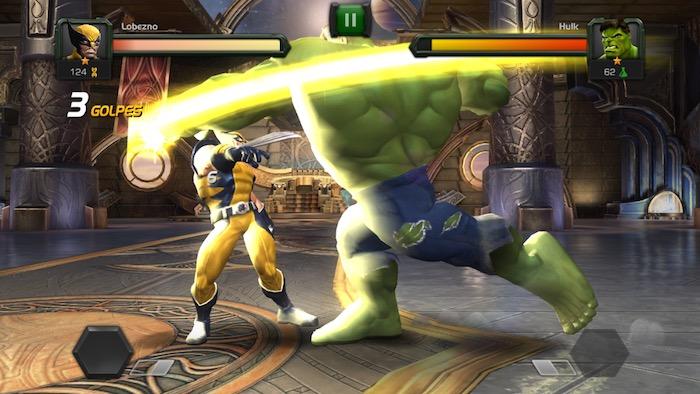 Marvel Batalla de heroe 4