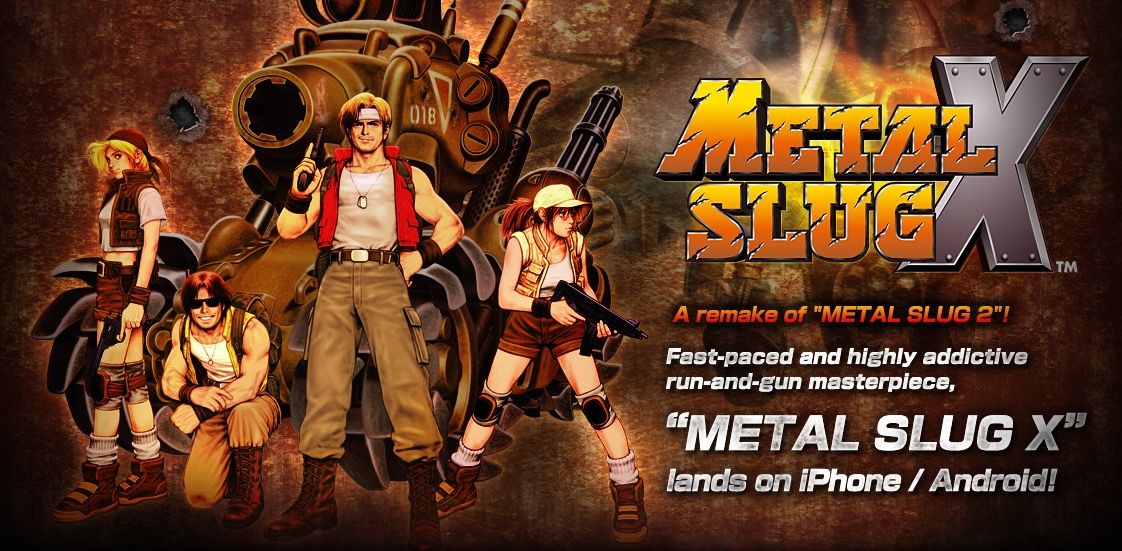 Metal Slug X iOS
