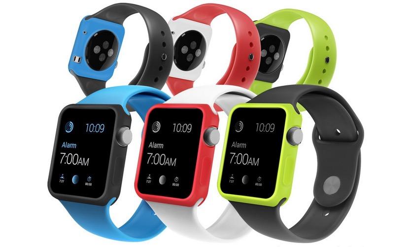 Orzly carcasas de colores Apple Watch