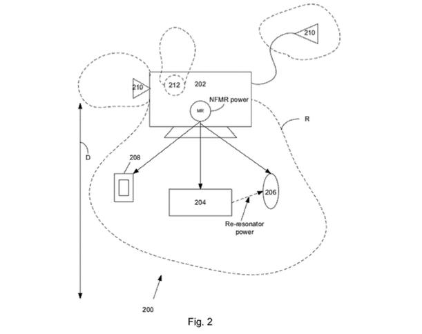 Patente carga inalambrica Apple