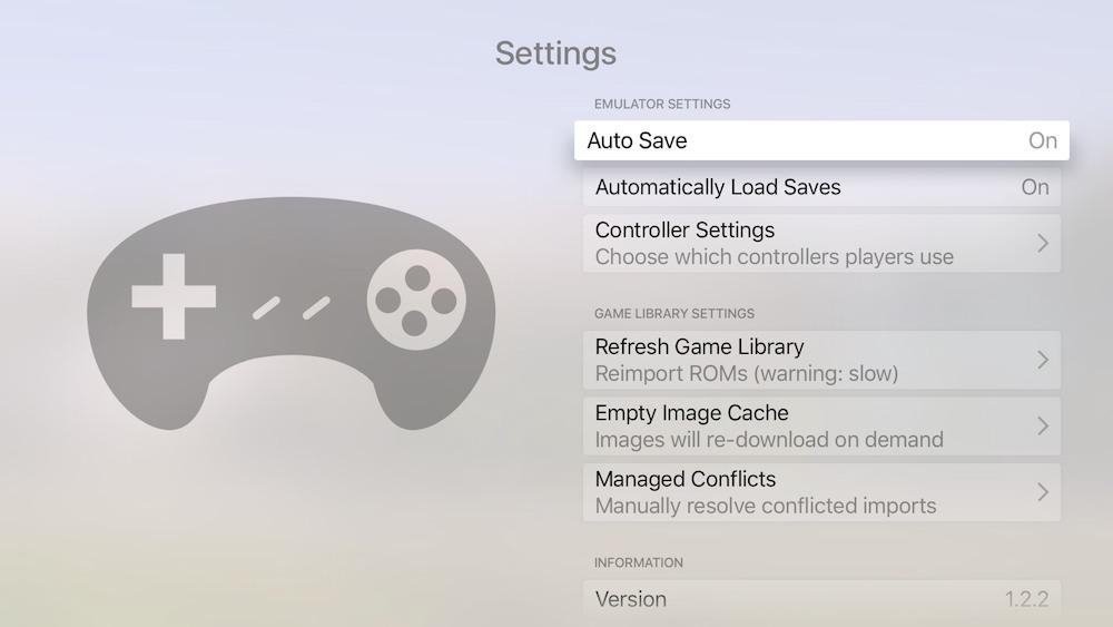 emulador Provenance Apple TV