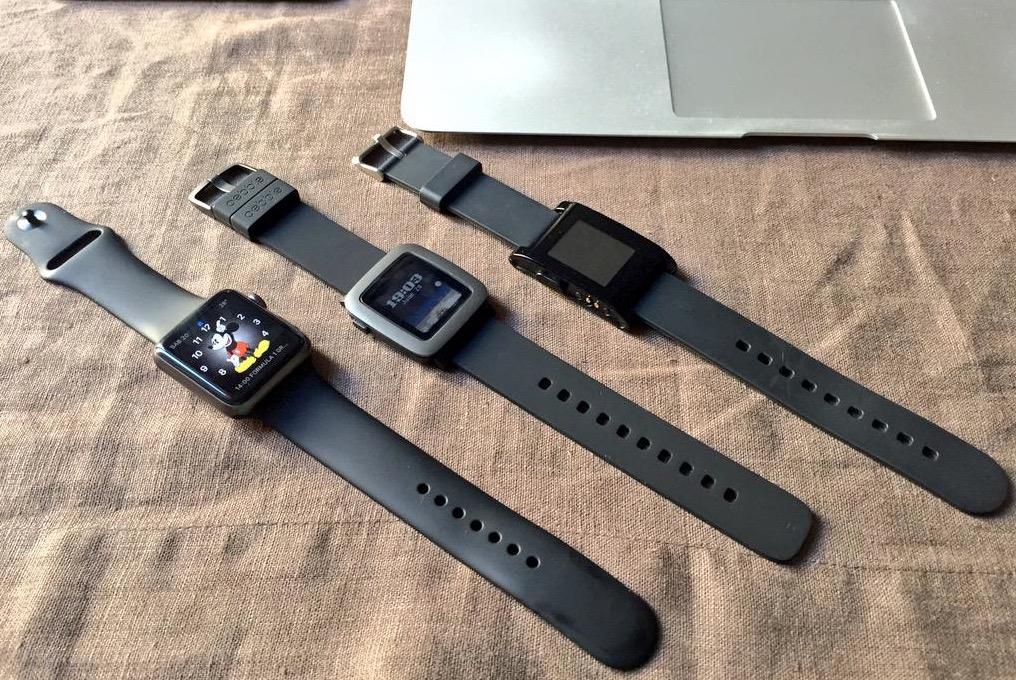 Apple Watch - Pebble Time - Pebble