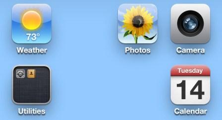 Cómo crear espacios entre iconos de aplicaciones sin