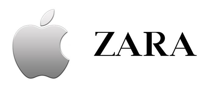 La amistad entre apple y zara