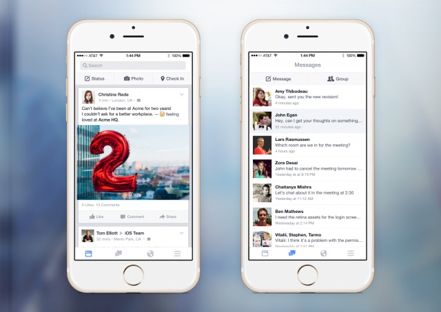 Facebook At Work - Work Chat