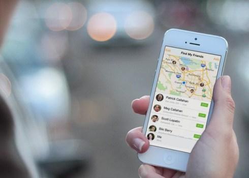 Buscar mis Amigos iOS 7