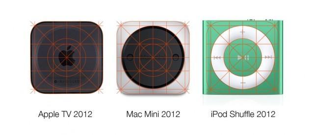 Diseños productos Apple