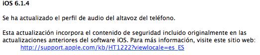 iOS 6.1.4 itunes