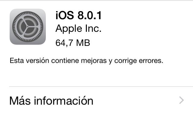 iOS 801 OTA