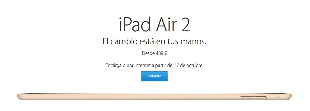 iPad Air 2 Comprar