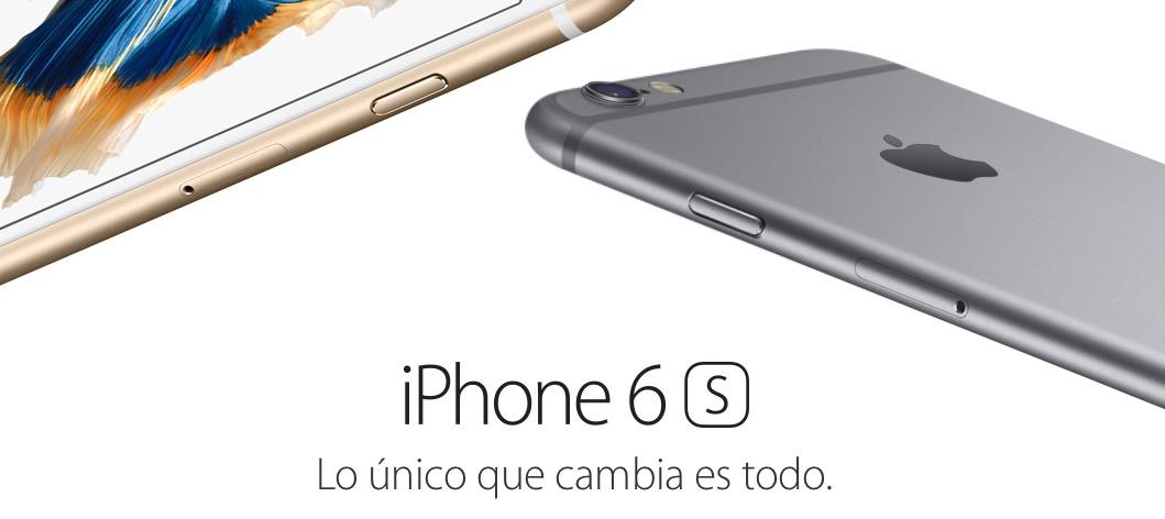 iPhone 6s 9 octubre