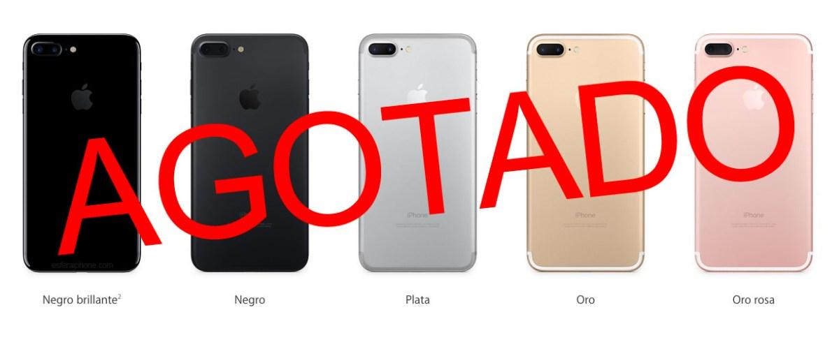 iPhone 7 agotado