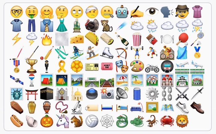 beta de iOS 9.1 emoji