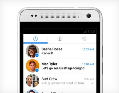 Nuevo Facebook Messenger Android