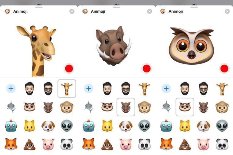 Animoji iOS 12.2