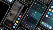 Concepto iOS 12 para iPhone