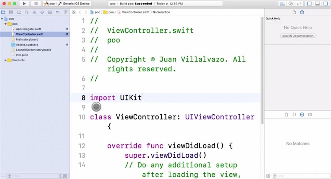 Curso programación iOS 11