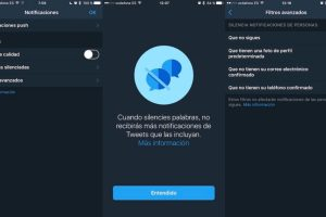 Filtros de Twitter para iOS