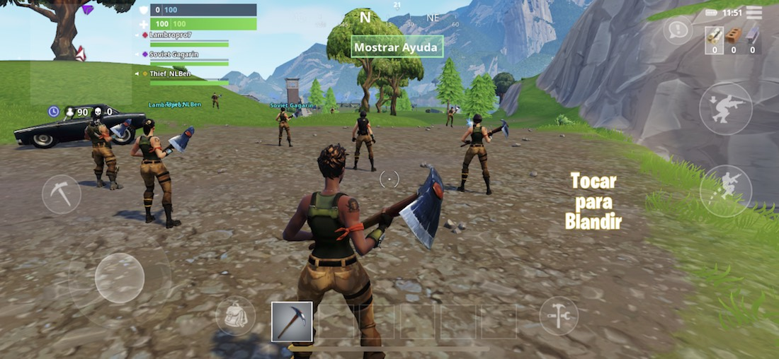Fortnite iPhone X