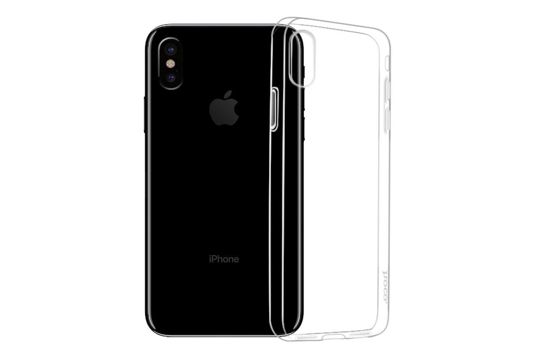 Funda iPhone X - Silicona transparente