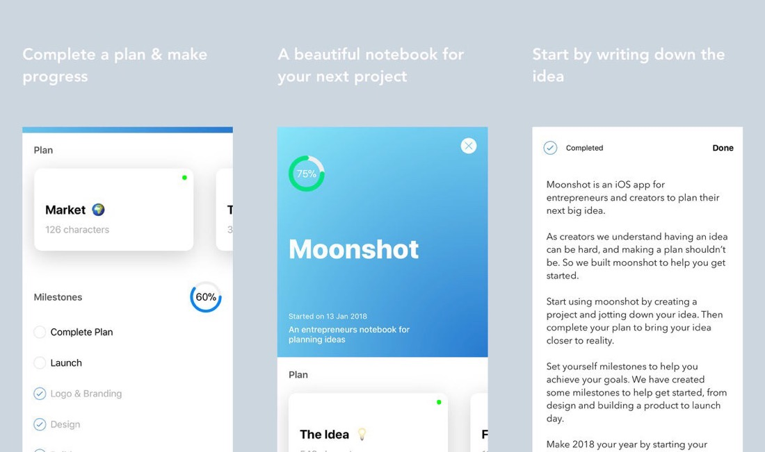 Moonshot iOS