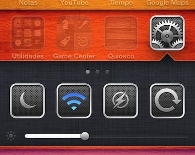 Velox nos permite interactuar con nuestras aplicaciones desde sus iconos